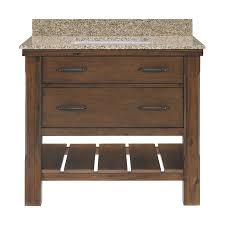 Bathroom Vanities And Tops Combo by Bathroom 60 Inch Single Bathroom Vanityin Cherry Finish For