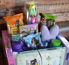 peeps basket and easy to make peeps easter basket after in the woods