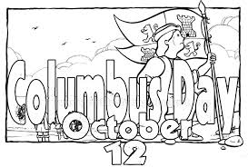 columbus coloring pages getcoloringpages