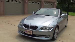 hd video 2011 bmw 328i hard top convertible blue water metallic