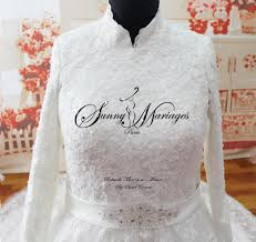 robe de mariã e pour femme voilã e robe de mariee manches longues mariage
