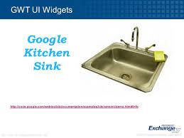 INNOV Getting Started With Ajax Ken Wilner VP Of Technology - Gwt kitchen sink