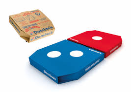 domino s domino s clever new pizza boxes are designed for sharing on instagram