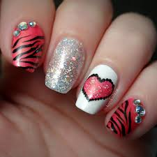 16 valentine u0027s day nail art designs to fall in love with