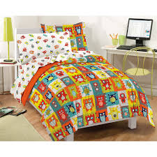 Childrens Bedroom Bedding Sets Dream Factory Silly Monsters Mini Bed In A Bag Bedding Set