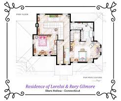 Sopranos House Floor Plan by Famous Houses Floor Plans