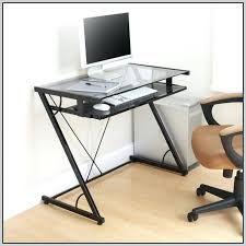 Glass Top Computer Desks For Home Home Office Furniture Walmart Glass Computer Desk Glass Top