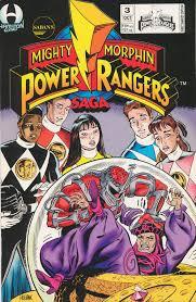 mighty morphin power rangers saga 3 mighty morphin power