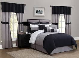 Black And White Bedroom Comforter Sets Total Fab Black And Ivory Comforter U0026 Bedding Sets