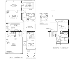 three bedroom house two stories and story house plan with bedrooms