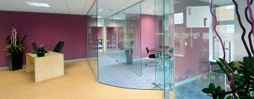 Interior Partition Glass Partitioning Frameless Glass Office Partitioning