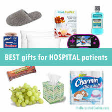 a roundup of the best non flower gifts for hospital patients