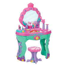 Girls Vanity Table And Stool Little Vanity Stool Home Vanity Decoration