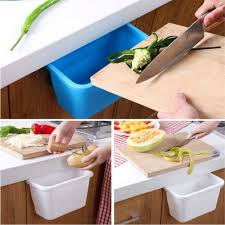 Kitchen Cabinet Garbage Drawer Aliexpress Com Buy Plastic Desktop Storage Box Doors Hang Trash