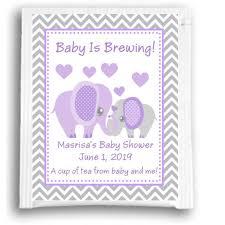 purple elephant baby shower decorations purple elephant baby shower tea favors