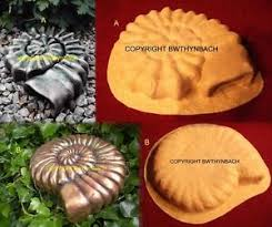 new rubber mould moulds mold make ammonite fossil garden