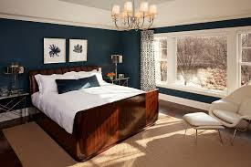 Burnt Orange Paint Colors Bedroom Transitional Interesting Ideas - Blue color bedroom ideas
