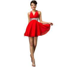 red cocktail dress kzdress