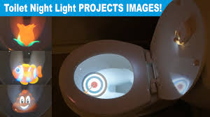 projector toilet light project a emoji or target by