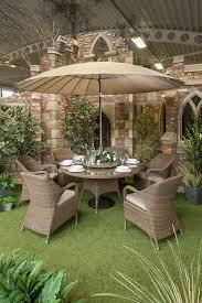 Metal Garden Table Hartman Beaumont 4 Seater Round Set Garden Furniture 4 Seater