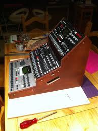 Audio Rack Diy Elektron Rack End Cheek Mount Diy Compilation General