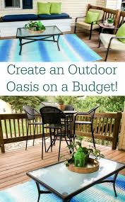 Low Cost Patio Furniture - 332 best patio paradise images on pinterest outdoor spaces