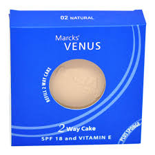 Bedak Marks Venus Two Way Cake venus refill two way cake 02 gogobli