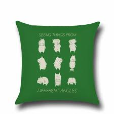 Discounted Patio Cushions Funny Animal Pattern Cushion Covers Decorative Animals Pillows