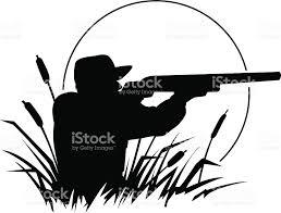 duck hunting silhouette stock vector art 165810710 istock
