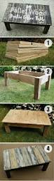 Build Outside Wooden Table by Best 25 Outdoor Coffee Tables Ideas On Pinterest Industrial
