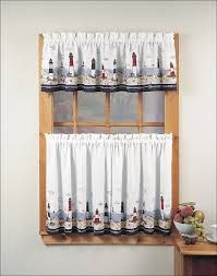 Modern Kitchen Curtains And Valances by Kitchen Target Curtains Threshold Kitchen Curtains Kohls Target