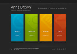 Web Resume Template The Resume Template That Will Get You Job You Want Designolymp