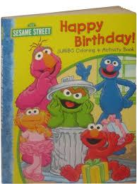 sesame street happy birthday coloring book shop toys4usa com for