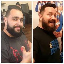 my wife told me she has the hots for rusev with his new hair cut