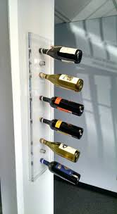 wall wine rack for towels welland white floating shelf with glass