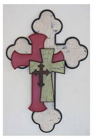 202 Best Homemade Crosses Images On Pinterest Wood Decorative