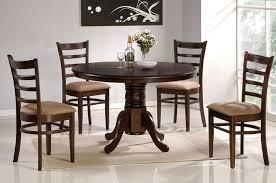 Espresso Kitchen Table by Brilliant Design Round Espresso Dining Table Tremendous Monarch