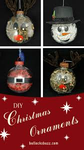 diy ornaments crinkle paper shreds character ornaments