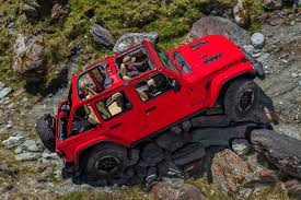ultimate jeep head to head 2018 jeep wrangler confidently drives a tightrope automobile
