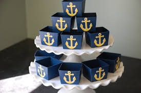 nautical party supplies anchor candy cups nautical party supplies nut cups nautical