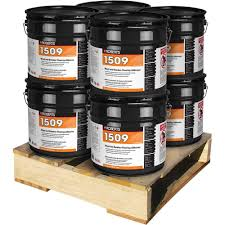Laminate Flooring Adhesive Roberts 4 Gal Wood And Bamboo Flooring Urethane Adhesive R1509 4