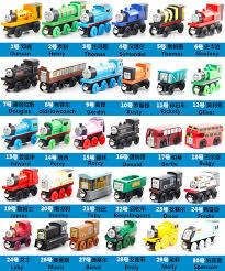 thomas friends large magnetic wooden trains brio elc