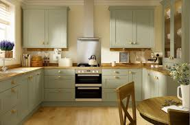 Green Kitchen Designs by Oxford Olive Green Kitchen Traditional Shaker Range Benchmarx