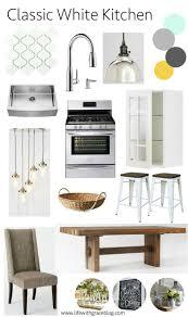 Classic White Kitchen Designs by Best 25 Classic White Kitchen Ideas On Pinterest Wood Floor