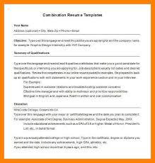 hybrid resume template 7 hybrid resume templates emt resume