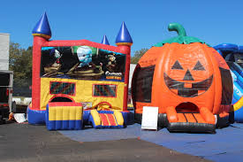 halloween inflatables halloween is here jump and slide