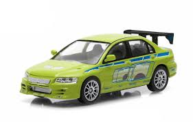 fast and furious evo greenlight 1 43 fast and furious brian s 2002 mitsubishi lancer