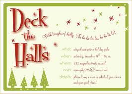 Invitation Card For Christmas 4 Christmas Party Invitation Template Outline Templates