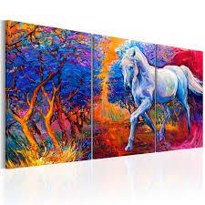 wohnzimmer xxl wandbilder xxl wohnzimmer leinwand bilder pferd landschaft natur