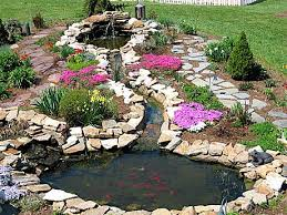 Backyard Pond Landscaping Ideas Collection In Backyard Pond Landscaping Ideas 21 Garden Design